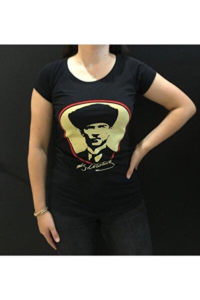 Panda K.Atatürk Baskılı T-shirt