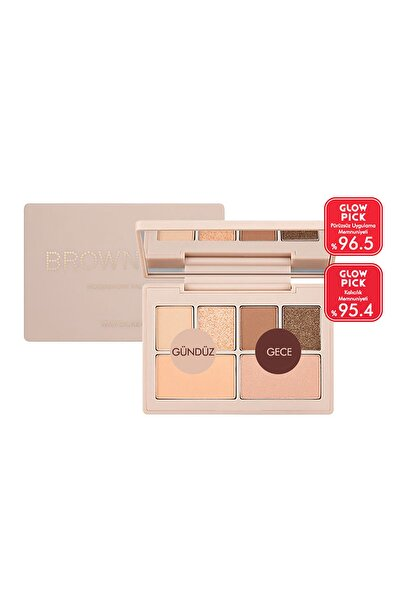 Missha Özel Koleksiyon Far Paleti My Pocket Moodnmore Palette (No1/Brown Bar) 8809643508964