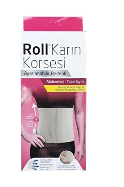 Kurtsan Roll Abdominal Karın Korsesi
