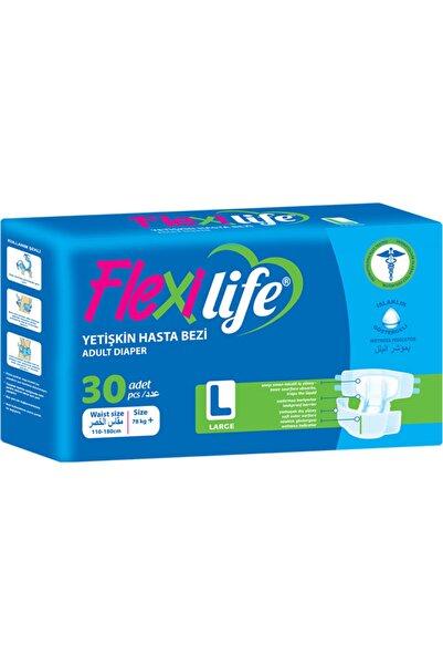 Flexi Life Yetişkin Hasta Bezi Bel Bantlı Büyük Boy 30 Kullanım