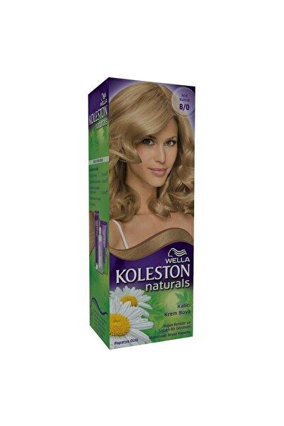 Koleston Naturals Kit 8.0 Acik Kumral