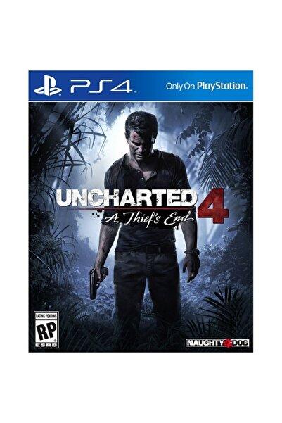 Naughty Dog Uncharted 4: Bir Hırsızın Sonu Ps4 Oyun - Türkçe Altyazı
