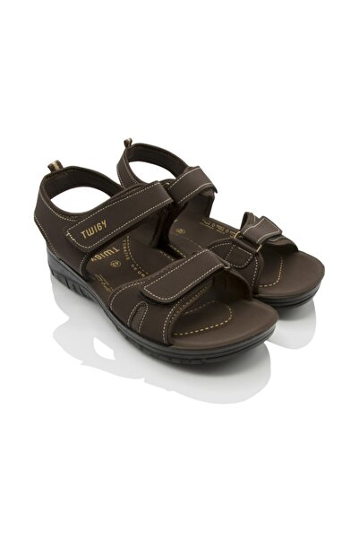 Twigy Erkek Kahverengi  Adventure Sandalet
