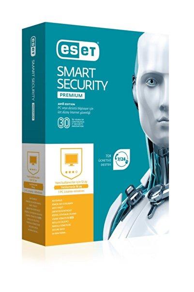 ESET Smart Securıty Premıum Kutu 1 Kullanıcı