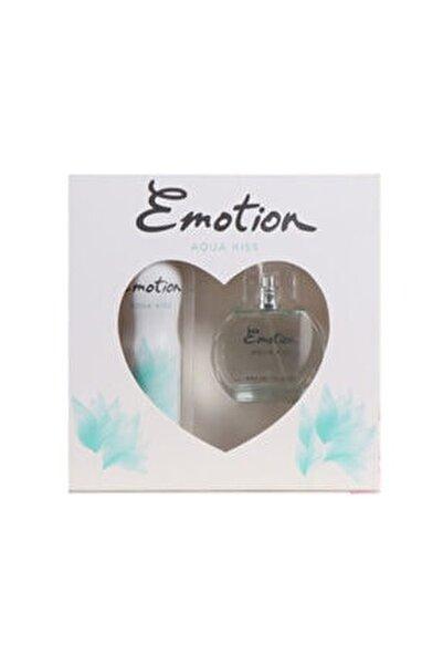 Aqua Kiss Parfüm 50 ml & Deodorant Kofre Set 150 ml