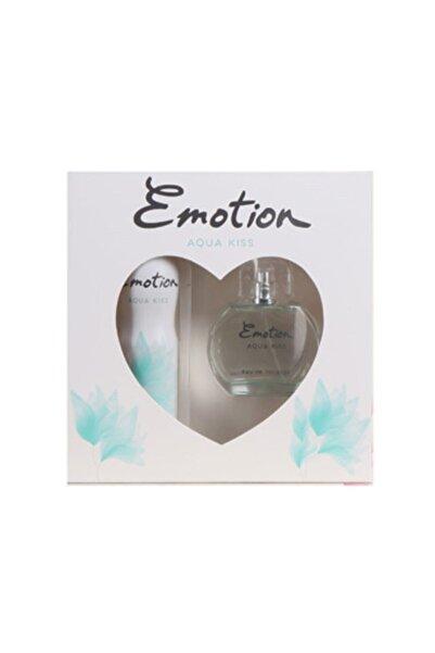 Emotion Aqua Kiss Parfüm 50 ml & Deodorant Kofre Set 150 ml