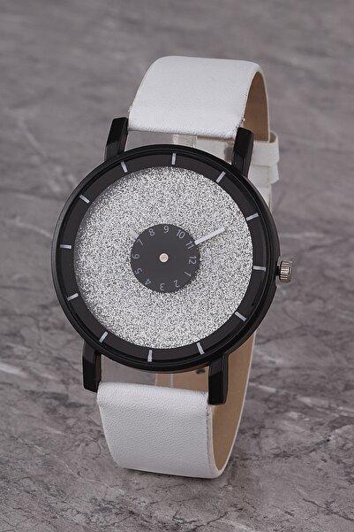 Polo55 Plkk017r05 Kadın Saat Beyaz Tasarım Kadran Deri Kordon