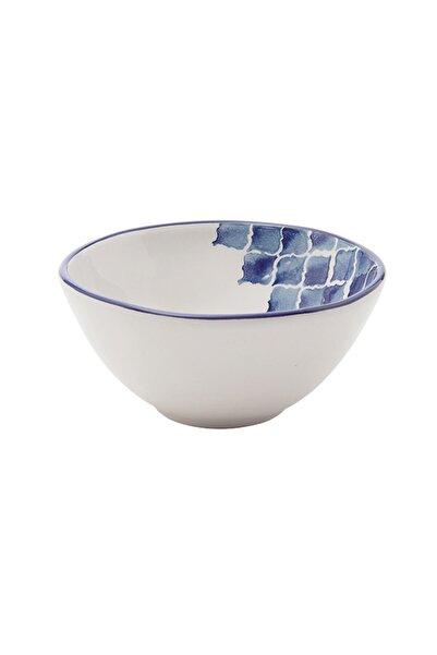 Bella Maison Blue Tile Seramik Çorba Kasesi 6'lı (16 Cm)