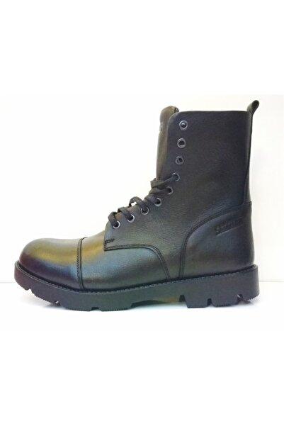 Asla Su Geçirmez Siyah Erkek Postal Bot Ayakkabı M5634ds
