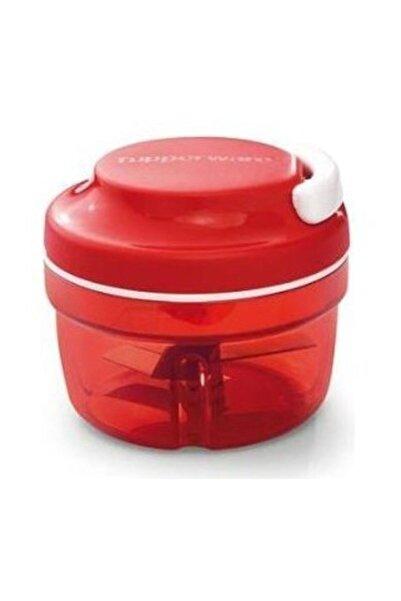 Tupperware Süper Şef Kırmızı Plastik  Doğrayıcı