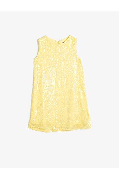 Kız Çocuk  Sarı Elbise