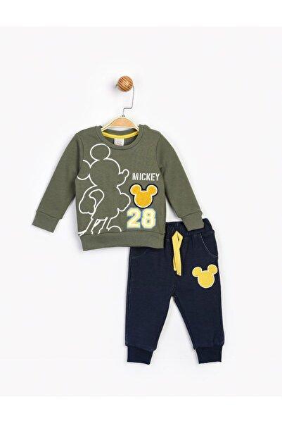 Mickey Mouse Bebek  Yeşil  Mickey Takım 16206