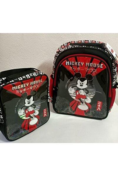 Mickey Mouse Okul Çantası Ve Beslenme Çantası