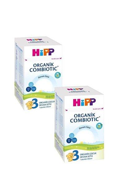 Hipp 3 Organik Combiotic Devam Sütü 800 gr 2'li