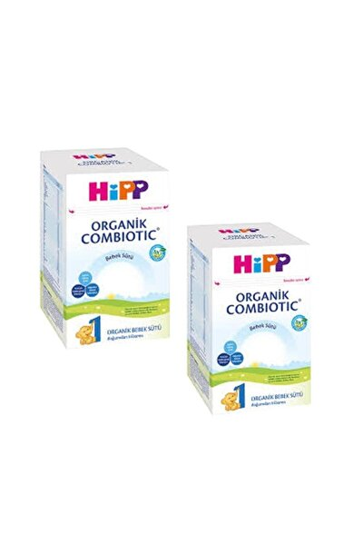 Hipp 1 Organik Combiotic Bebek Sütü 800 gr 2'li