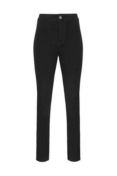 Oblavion Siyah Skinny Jean Pantolon