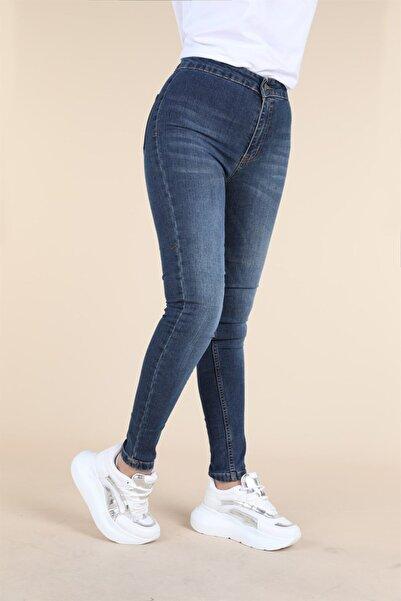 Oblavion Indigo Skinny Jean Pantolon