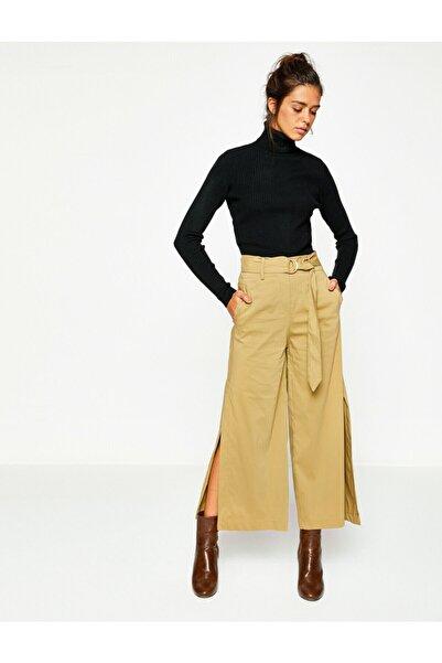 Koton Kadın Haki Pantolon 8KAK42342UW