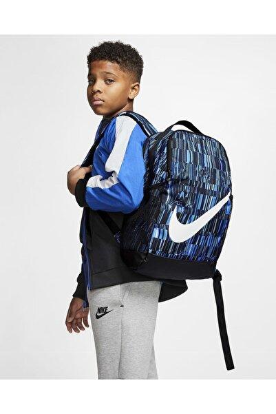 Nike Ck5576-010 Brsla Bkpk - Aop Fa20 Sırt Ve Okul Çantası Mısc Mavi