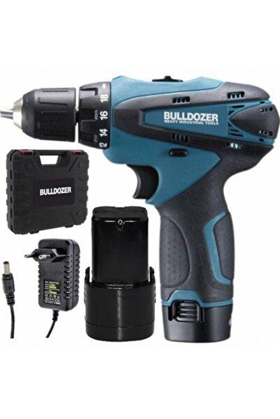 Bulldozer 20 Volt 2 Ah Darbesiz Çift Akülü Şarjlı Vidalama Matkap (blue) Ar
