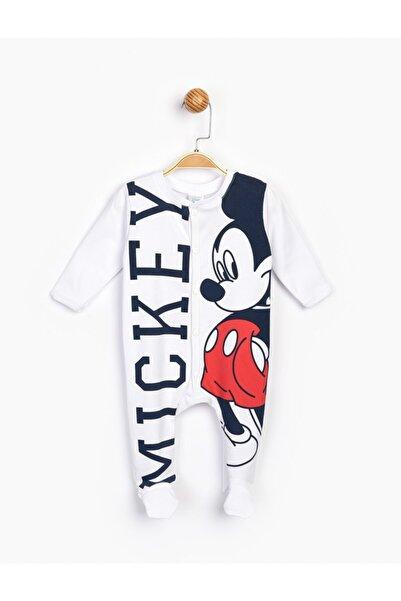 Mickey Mouse Bebek Beyaz Mickey Bebek Tulum 16176