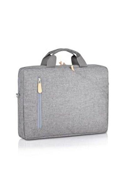 Laptop / Evrak Çantası Nc-lt-003 Gri (15'' Inç)