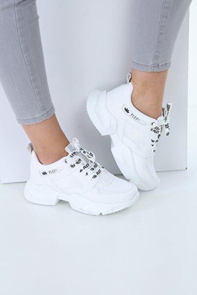 Larasima Kadın Beyaz Sneaker Spor Ayakkabı