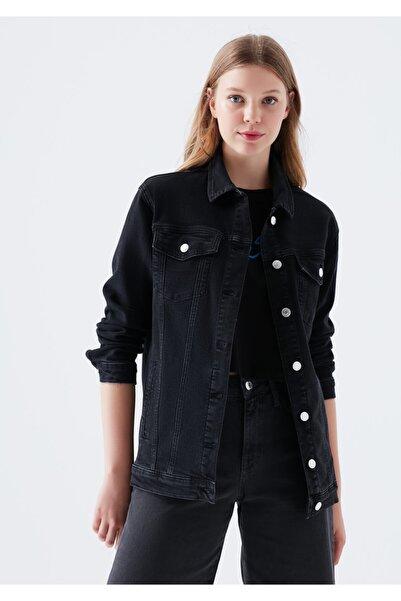 Mavi Kadın Jill 90 s Gri Jean Ceket 110081-32651