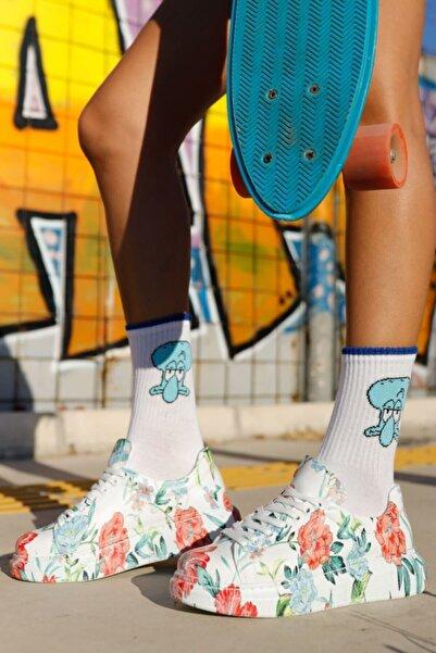 Chekich Kadın Çiçekli Ayakkabı Ch255w