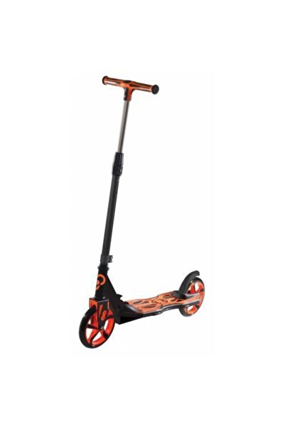 Cool Wheels Katlamalı 2 Tekerlekli Dev Teker Scooter (+12 Yaş) Tekerlek Çapı 20cm Turuncu