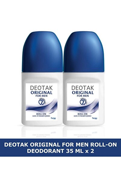 Deotak Orıgınal For Men Roll-on Deodorant 35 Ml X 2