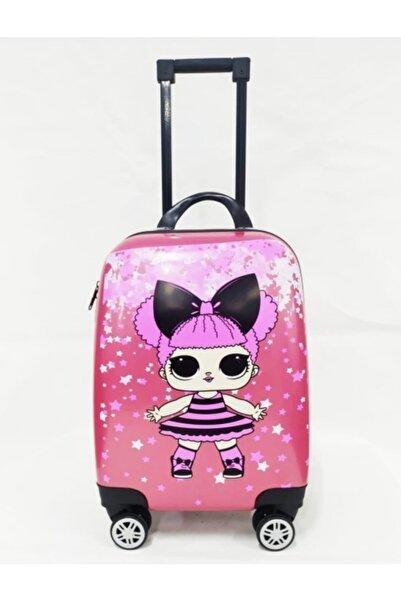 DGN Bags&Suitcase Kız Çocuk Çok Renkli  Kabin Valiz
