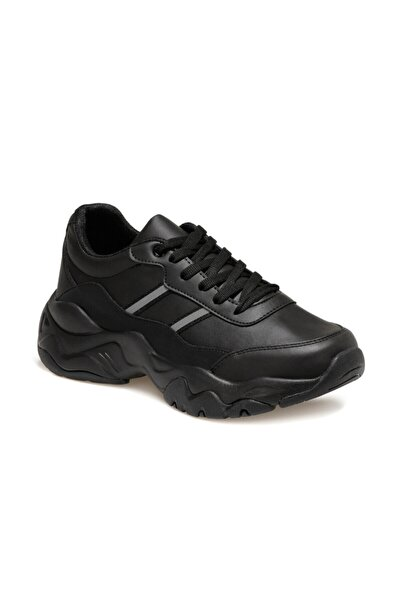 Torex Rosıe Pu W Siyah Kadın Sneaker Ayakkabı