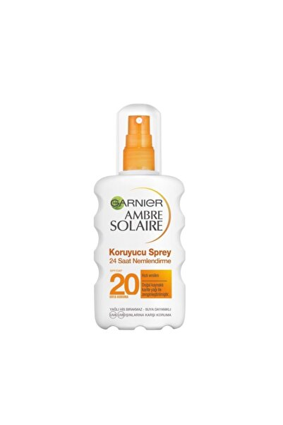 Garnier Ambre Solaire Medium Spf20 Moisturising Protection Spray 200ml