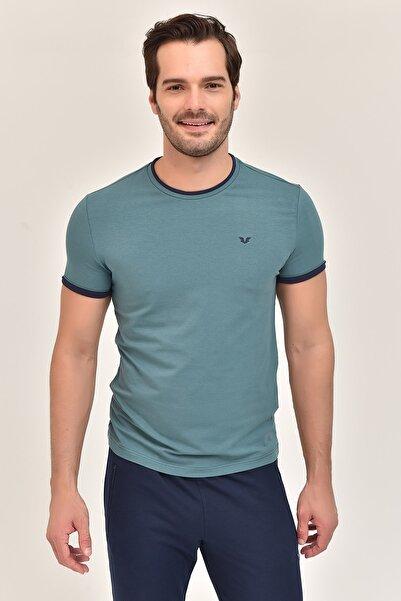 bilcee Yeşil Erkek T-Shirt ES-2374