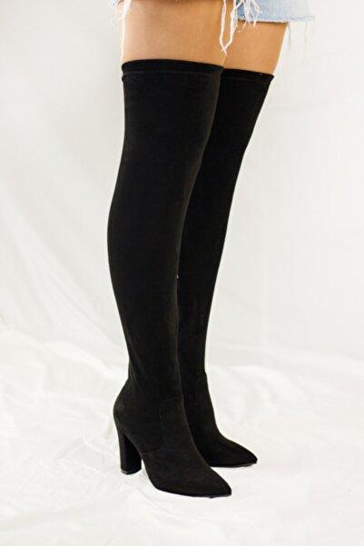 JOY BRAVE SHOES Kadın Siyah Çizme