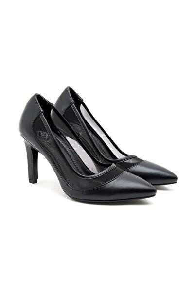 Desa Kadın Siyah Klasik Topuklu Ayakkabı
