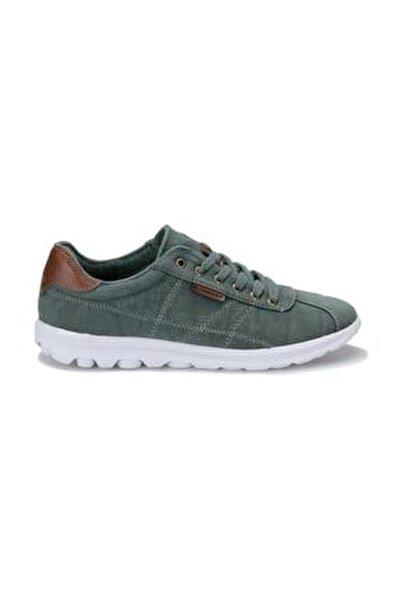 Erkek Yeşil Saber Confort Casual Keten Günlük Spor Ayakkabısı
