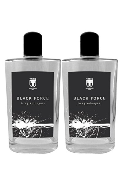 Tariş Black Force Traş Kolonyası 2 X 200 Ml 80 Derece