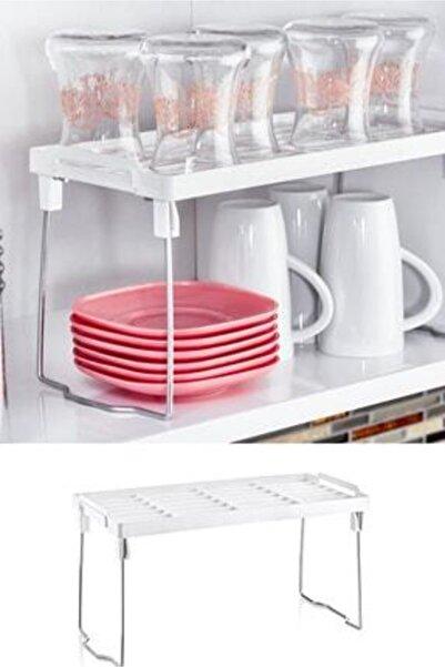 Kristal Dolap Içi Raf Düzenleyici Mutfak Masası Tezgah Üstü