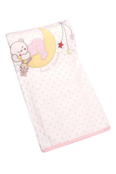 zepkids Bebek Battaniye Uyuyan Ayıcık Işlemeli