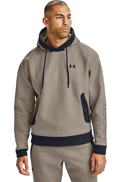 Under Armour Erkek Spor Sweatshirt - Ua Recover Fleece Hoodie - 1357071-200