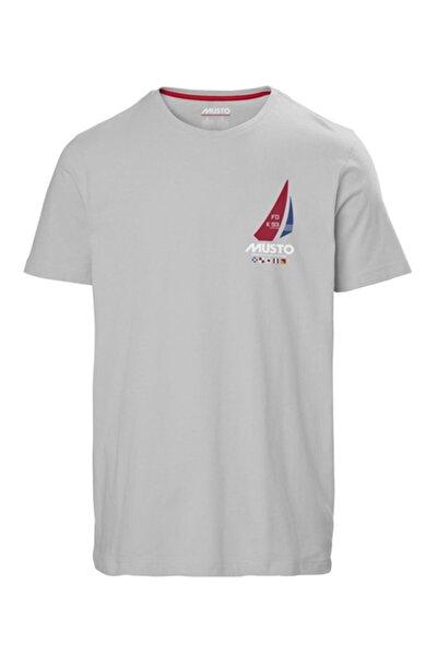 Musto Erkek Gri K93-gbr Tee T-shirt