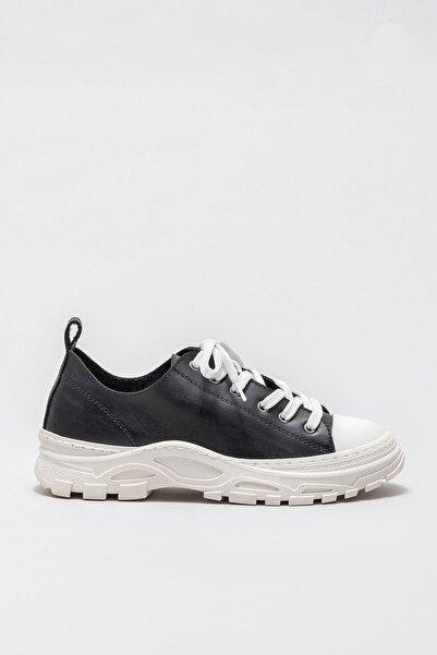 Elle Shoes Kadın Kıere Sıyah Casual Ayakkabı 20KAD310