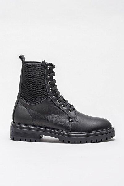 Elle Shoes Kadın Roslyn-1 Sıyah Bot & Bootie 20KTP6122
