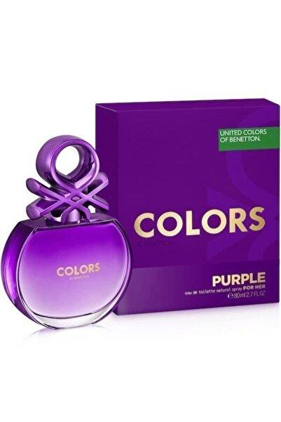 Benetton Colors Purple Edt 80 Ml Kadın Parfümü