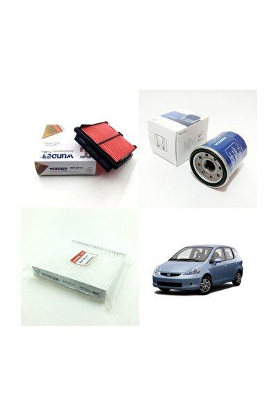 WUNDER Honda Jazz Iı 1.4 ( 2002 - 2007 ) Filtre Bakım Seti