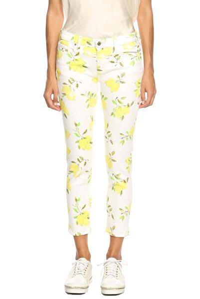 Kate Spade Kadın Beyaz Pantolon