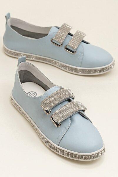 Elle Shoes EMILIE Açık Mavi Kadın Ayakkabı