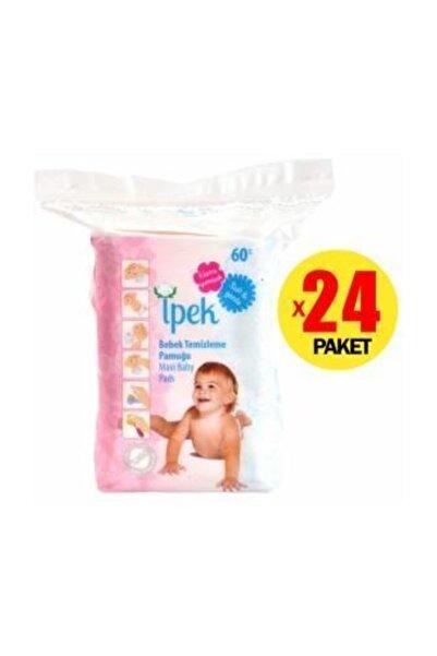 İpek Maxi Bebek Temizleme İpek Pamuğu 60'lı 6Paket
